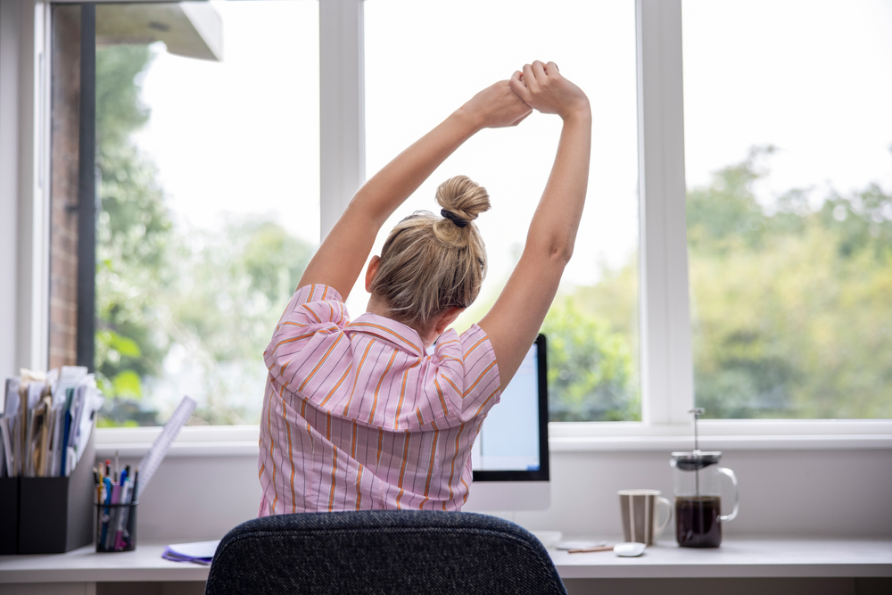 5 Exercises to do when sitting for too long